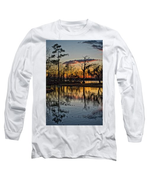 Riverside Sunset Long Sleeve T-Shirt