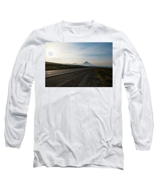 Road Through The Rockies Long Sleeve T-Shirt