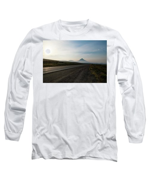 Road Through The Rockies Long Sleeve T-Shirt