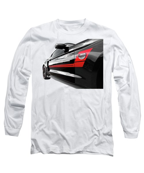 Roush Warrior Black Mustang Long Sleeve T-Shirt
