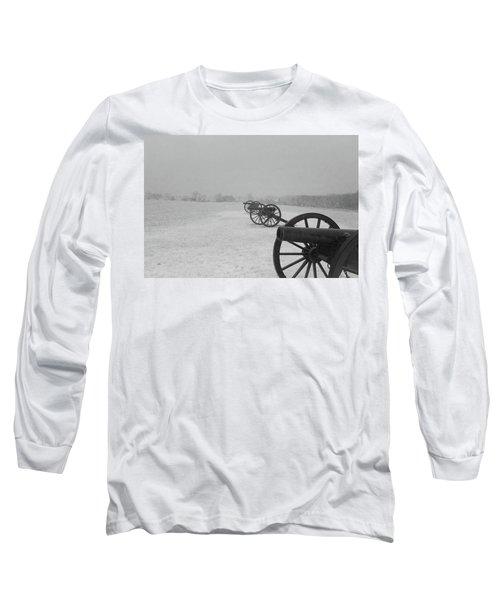 Row Of Cannon Long Sleeve T-Shirt