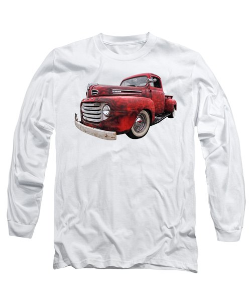Rusty Jewel - 1948 Ford Long Sleeve T-Shirt