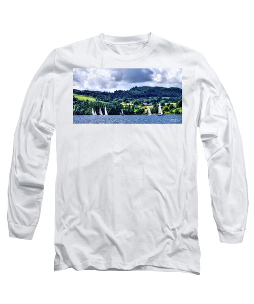 Sailing In Heaven Long Sleeve T-Shirt