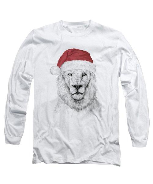 Santa Lion  Long Sleeve T-Shirt