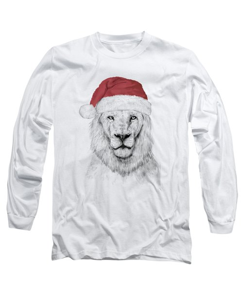 Santa Lion  Long Sleeve T-Shirt