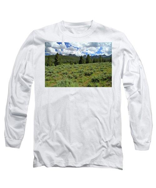 Sawtooth Range Crooked Creek Long Sleeve T-Shirt