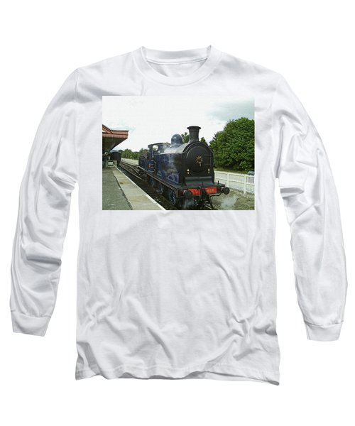 Scotland. Aviemore. Strathspey Railway. Long Sleeve T-Shirt