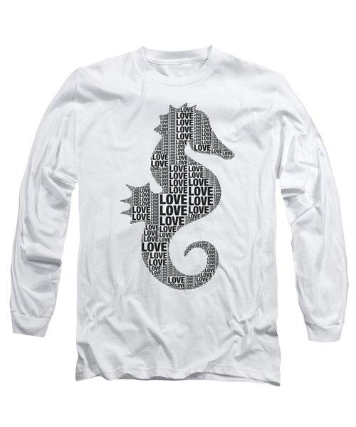 Seahorse Love Long Sleeve T-Shirt
