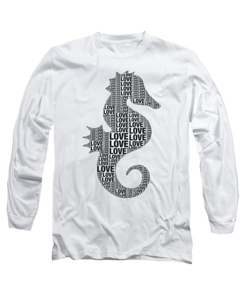 Seahorse Love Long Sleeve T-Shirt