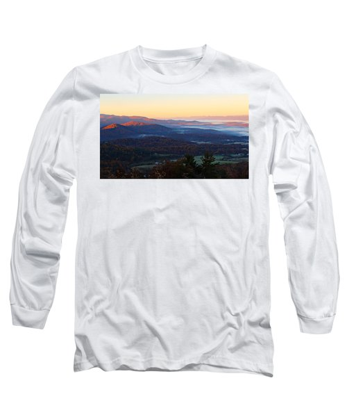 Shenandoah Mountains Long Sleeve T-Shirt