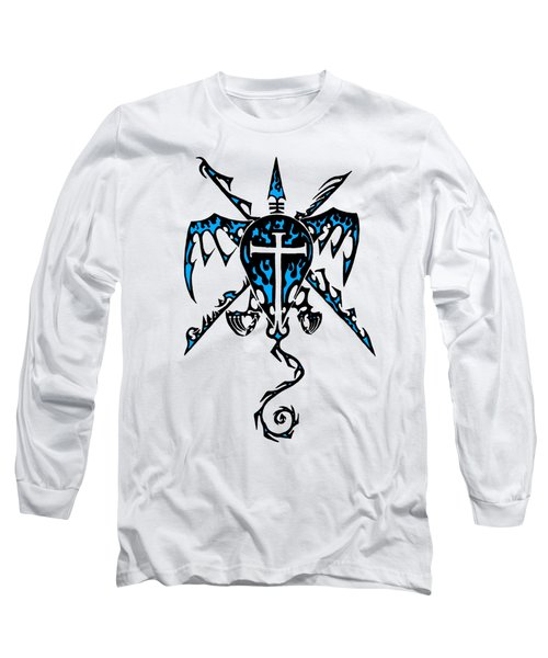 Shield Wing And Spears Long Sleeve T-Shirt