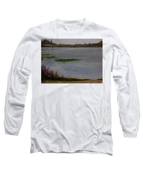 Silver Lake During The Wildfires Long Sleeve T-Shirt