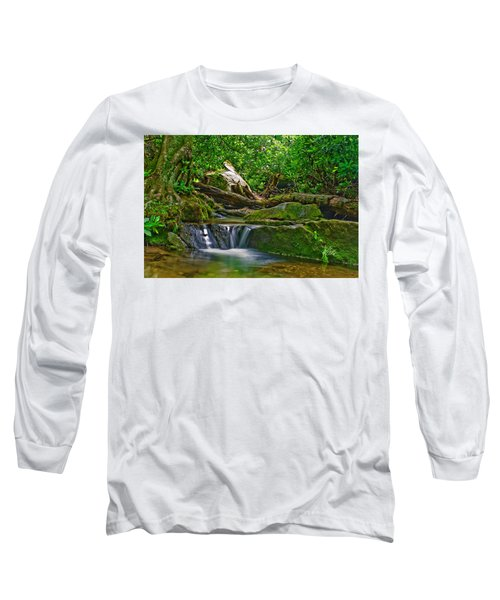 Sims Creek Waterfall Long Sleeve T-Shirt