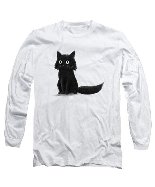Sitting Cat  Long Sleeve T-Shirt