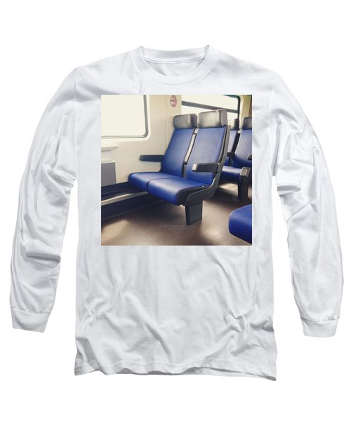 Sitting On Trains Long Sleeve T-Shirt