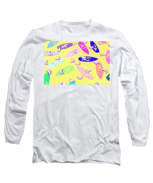Sixties Surf Long Sleeve T-Shirt
