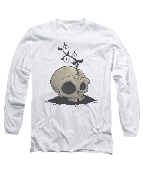Skull Garden Long Sleeve T-Shirt