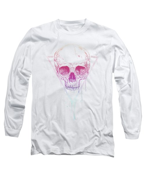 Skull In Triangle Long Sleeve T-Shirt