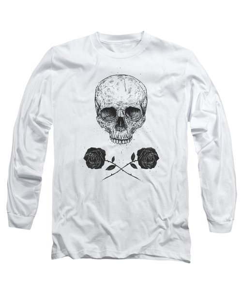 Skull N' Roses Long Sleeve T-Shirt
