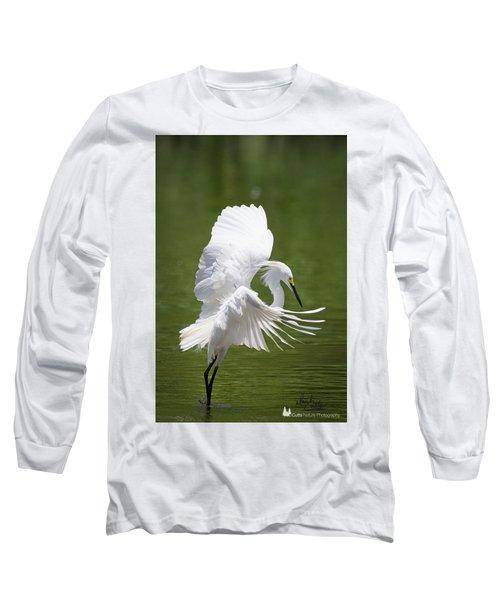 Snowy Dance Long Sleeve T-Shirt