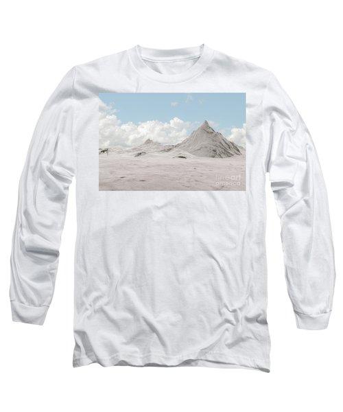 Snowy Mountain 007 Long Sleeve T-Shirt