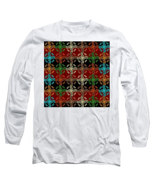 Southwestern Sun Tile Long Sleeve T-Shirt