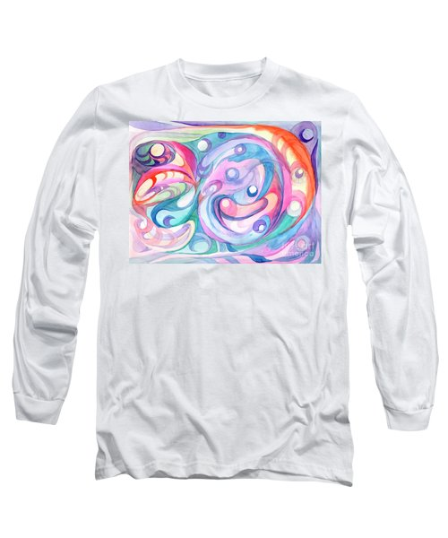 Space Abstract Long Sleeve T-Shirt