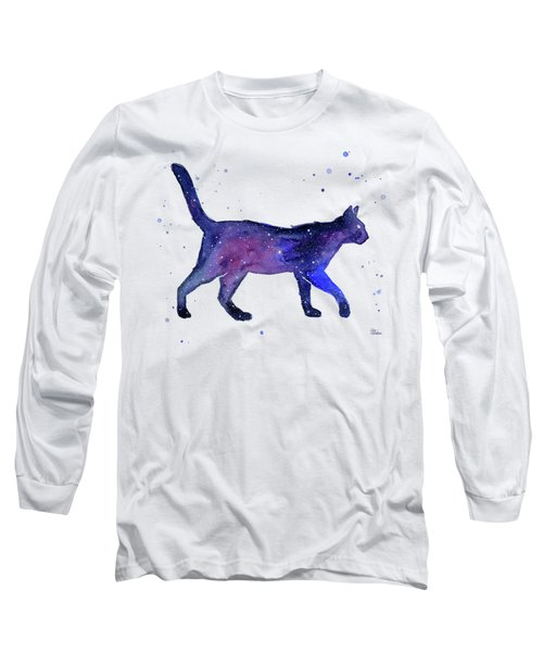 Space Cat Long Sleeve T-Shirt