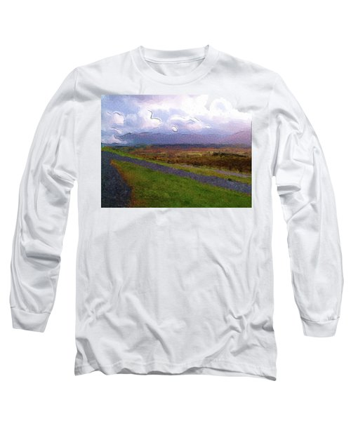 Spean Bridge Painting Long Sleeve T-Shirt