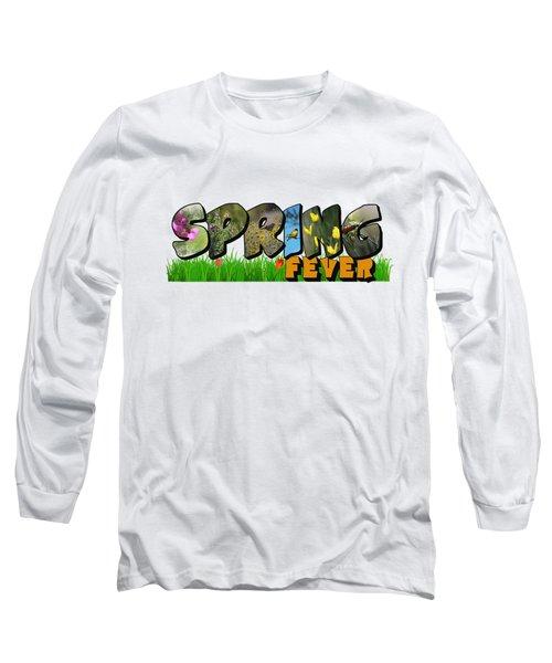 Spring Fever Big Letter Long Sleeve T-Shirt