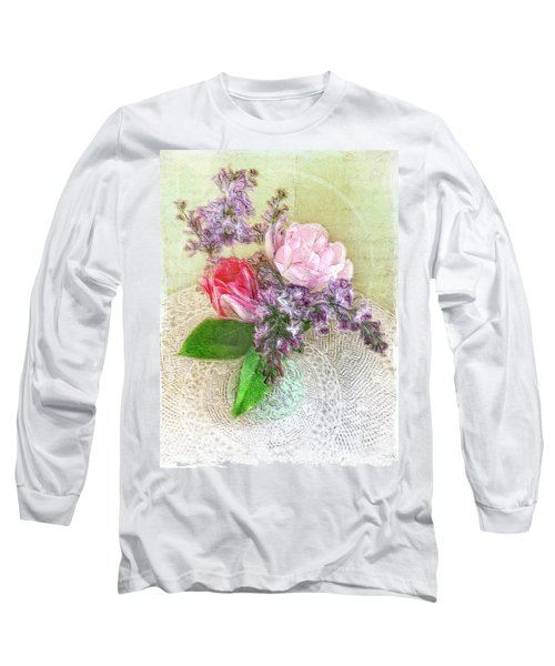 Spring Song Floral Still Life Long Sleeve T-Shirt