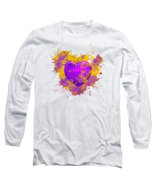 Stain Lakers Long Sleeve T-Shirt