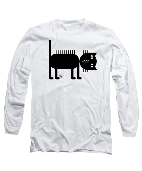 Standing Cat Long Sleeve T-Shirt