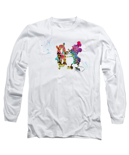 Steamboat Willie Long Sleeve T-Shirt