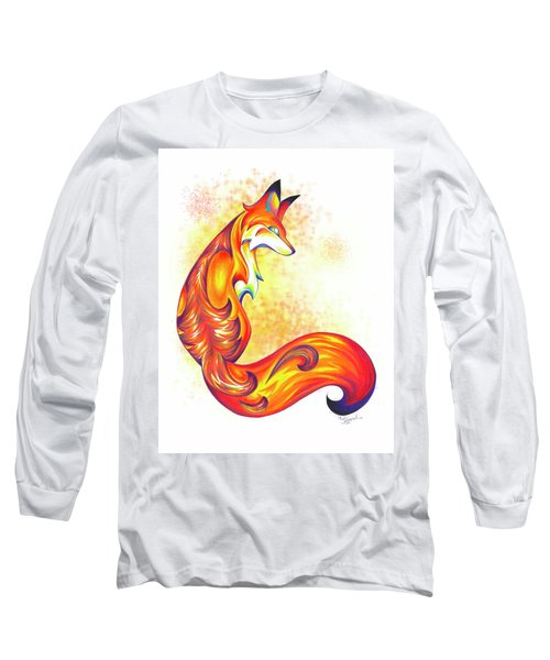 Stylized Fox I Long Sleeve T-Shirt