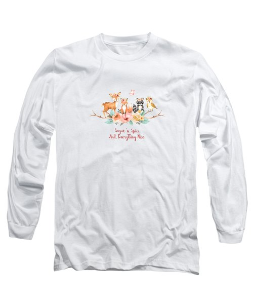 Sugar 'n Spice And Everything Nice Long Sleeve T-Shirt