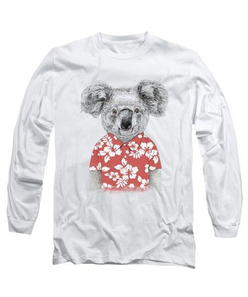 Summer Koala Long Sleeve T-Shirt