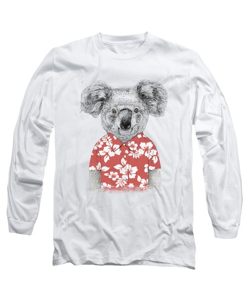 Summer Koala Long Sleeve T-Shirt
