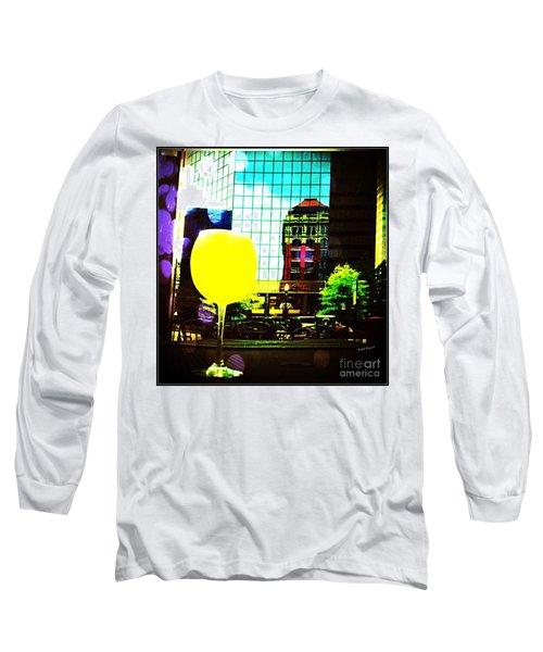 Summertime Downtown Lexington  Long Sleeve T-Shirt