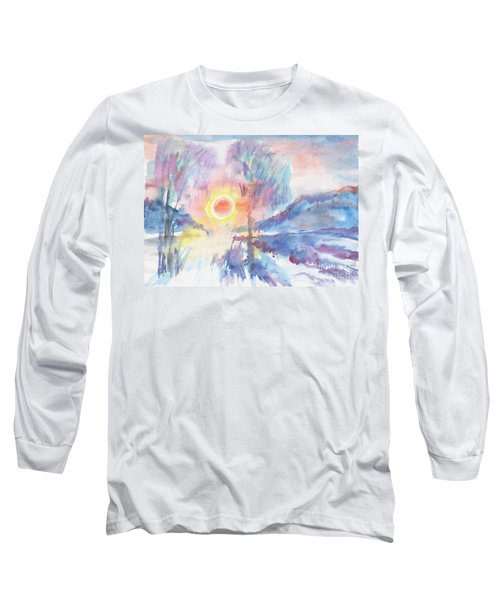 Sunny Winter Morning Long Sleeve T-Shirt