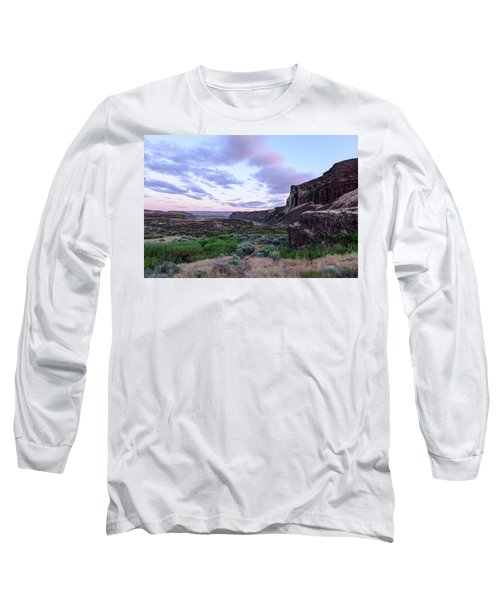 Sunrise In The Ancient Lakes Long Sleeve T-Shirt
