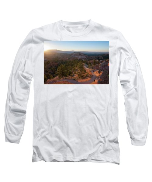 Sunrise Over Bryce Canyon Long Sleeve T-Shirt