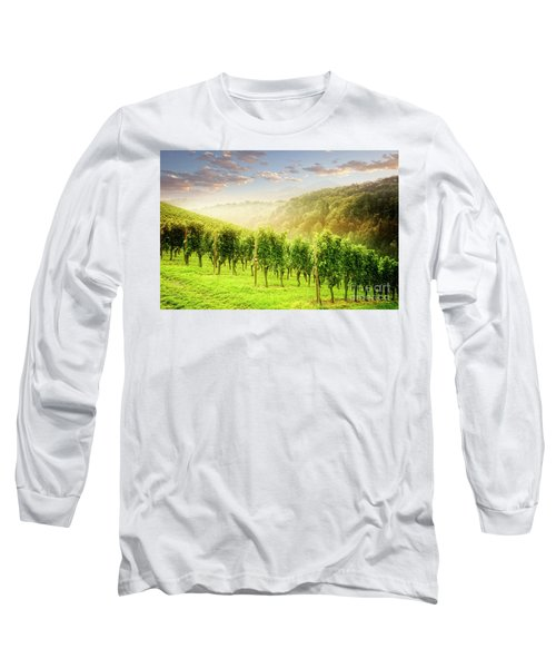Long Sleeve T-Shirt featuring the photograph Sunrise Over Styria by Scott Kemper