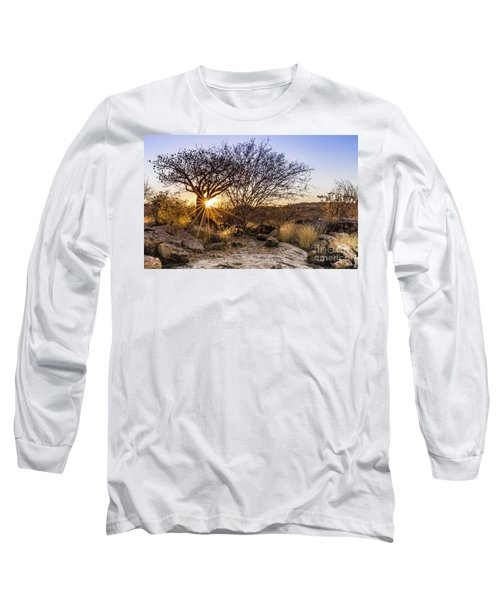 Sunset In The Erongo Bush Long Sleeve T-Shirt