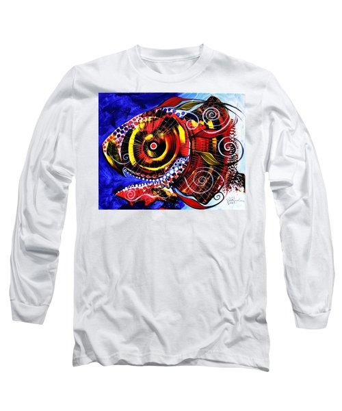 Swollen, Red Cavity Fish Long Sleeve T-Shirt