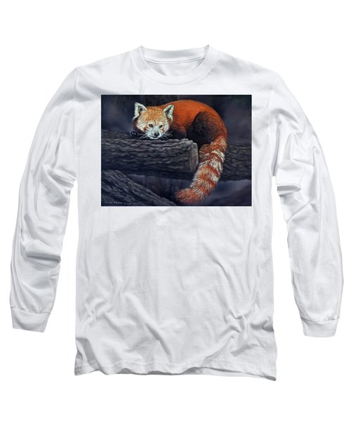 Takeo, The Red Panda Long Sleeve T-Shirt