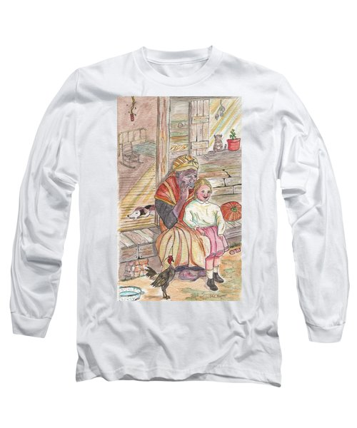 Taking Care Of The Owners Little Daughter Long Sleeve T-Shirt