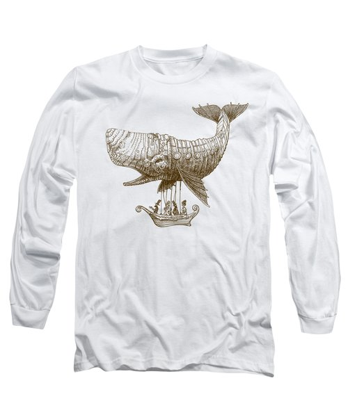 Tea At Two Thousand Feet Long Sleeve T-Shirt