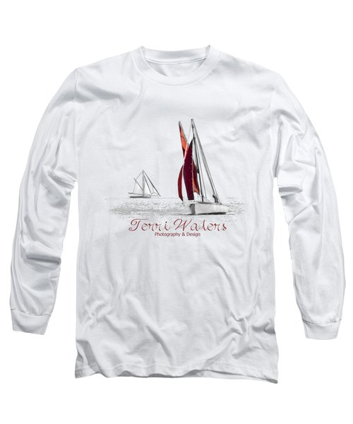 Terri Waters Photography And Design Logo Long Sleeve T-Shirt
