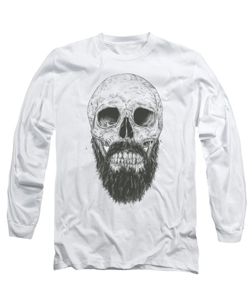 The Beard Is Not Dead Long Sleeve T-Shirt